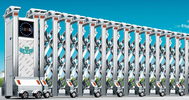 市场经济的发展,电动伸缩门制造业面临重大的变革